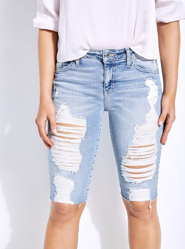 dbf449cff8 Pantalons, shorts et jupes en solde pour femmes | GUESS