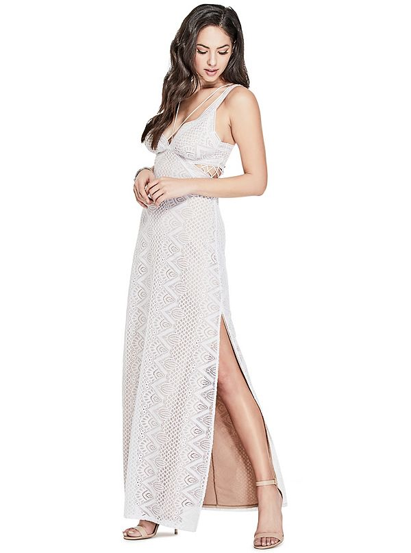 2b6a608e409 Gianna Lace Maxi Dress. W81K90R72J0-G009-ALT3. W81K90R72J0-G009.  W81K90R72J0-G009-ALT1