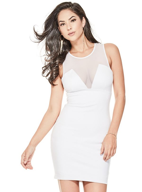 Tahsa Caged Bodycon Dress by Guess