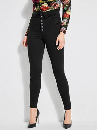 suitable for men/women 2019 factory price newest collection Corset Super High-Rise Skinny Jeans | GUESS.com