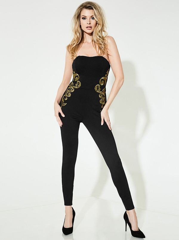 7a5ab22fe436 Bianca Embroidered Jumpsuit