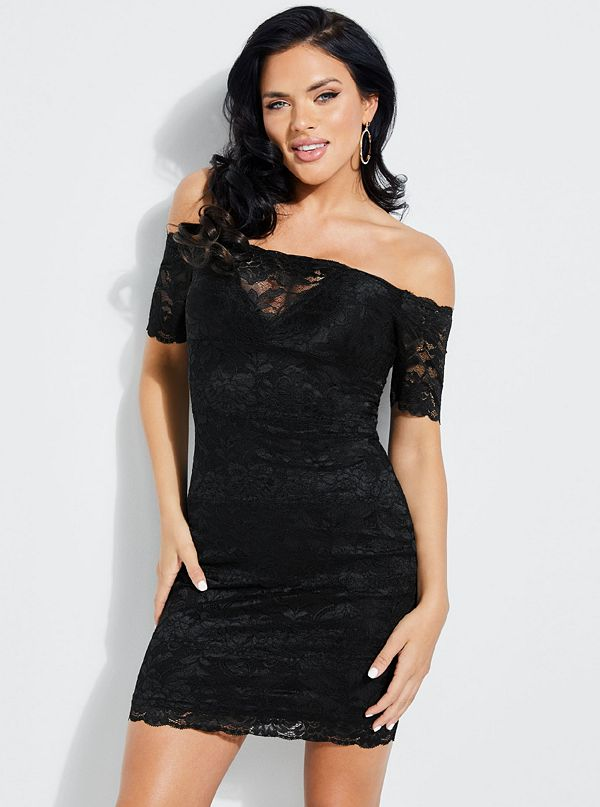 Evalla Lace Off-The-Shoulder Dress b01c5c12a