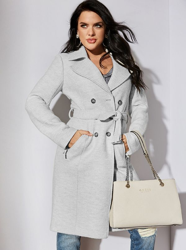 Kennta Trench Coat by Guess