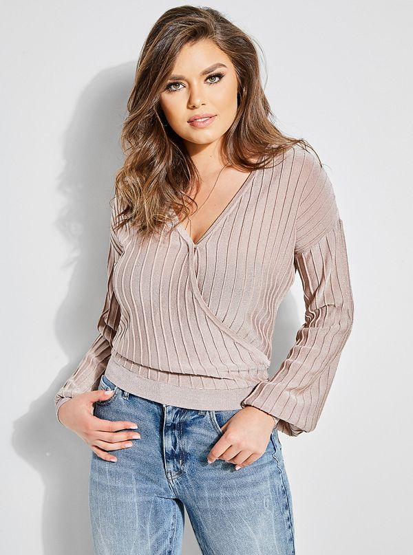 e5a2c5526064f Prism Shimmer Cropped Sweater