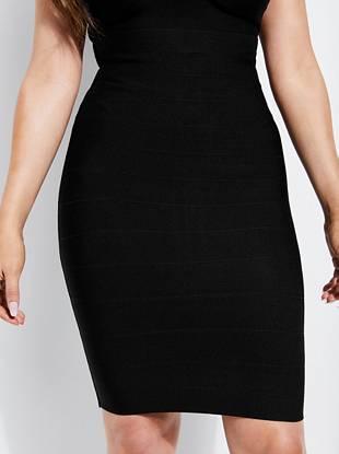 e84a118506 Mirage Bandage Pencil Skirt | GUESS.ca