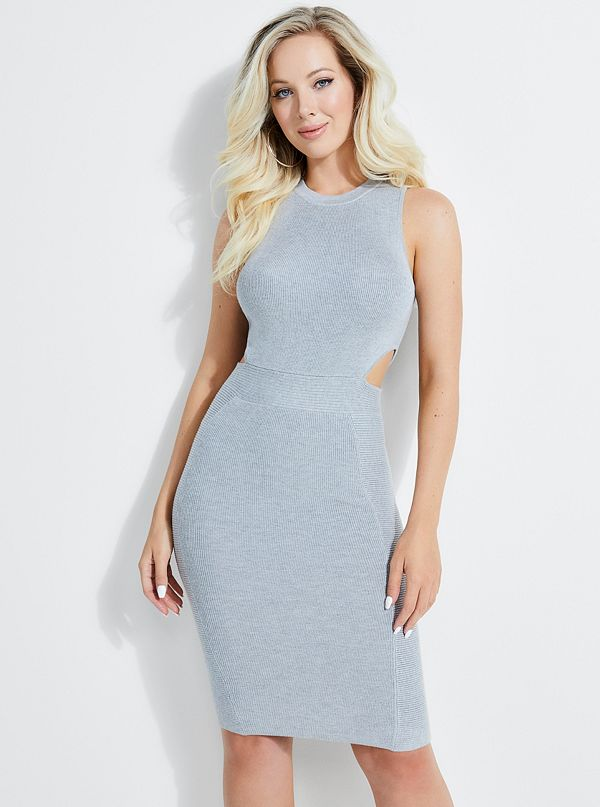 Allison Cutout Rib-Knit Dress 166042f99