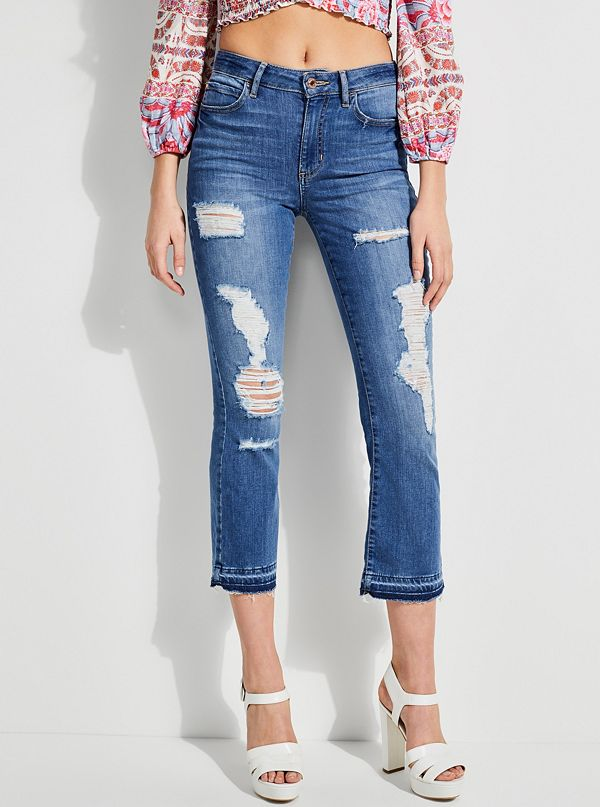 8a8135854b9e 1981 High-Rise Cropped Flare Jeans