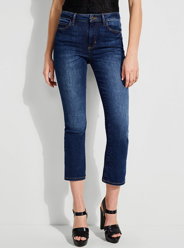 0644f830722 1981 High-Rise Cropped Flare Jeans
