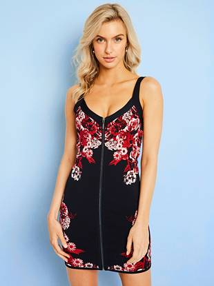 Mirage Floral Bandage Dress by Guess