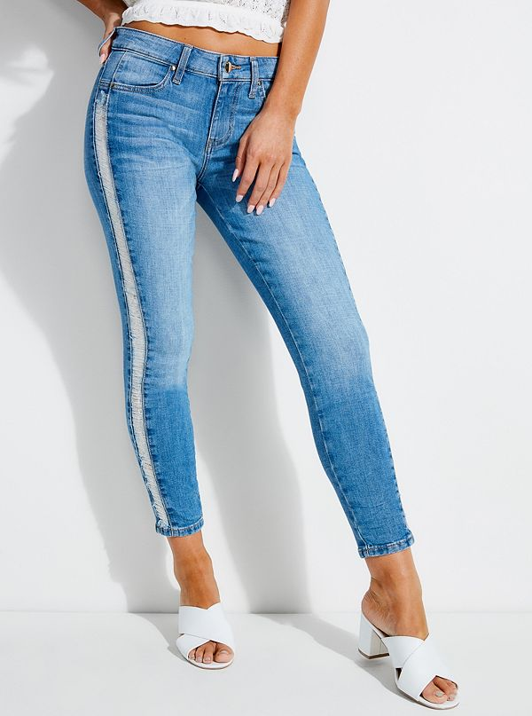 0423eb3f104 Distressed Sexy Curve Skinny Jeans