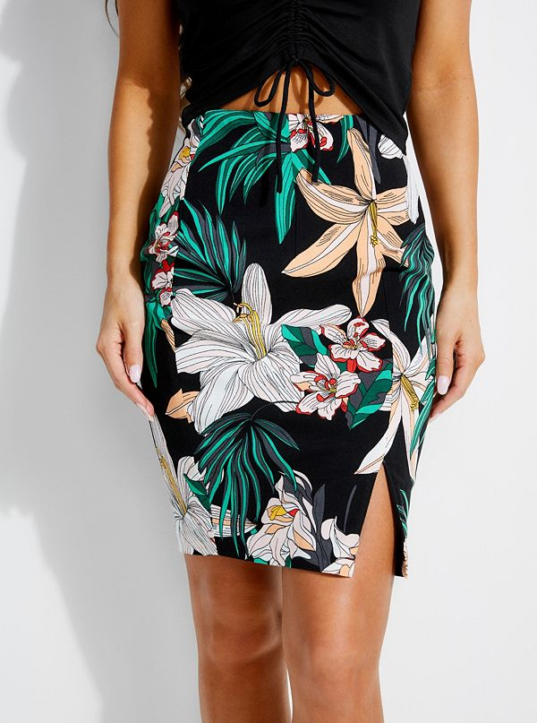 a61329d9e1 Kamala Printed Midi Skirt