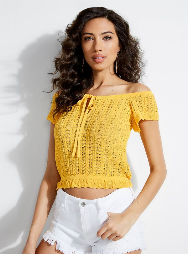 e1df6be7329856 Women's Off-The-Shoulder Tops | GUESS