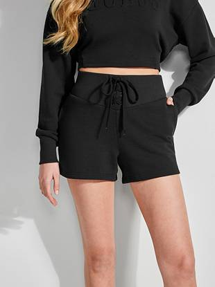 Lace Up Shorts by Guess