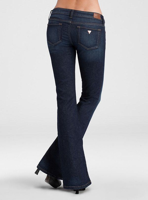 Foxy Flare Jeans - Imperial Wash | GUESS.com