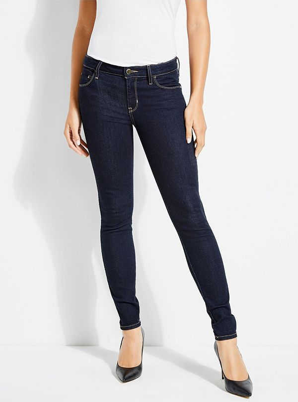 Candy 1981 High Rise Skinny Jeans by Guess