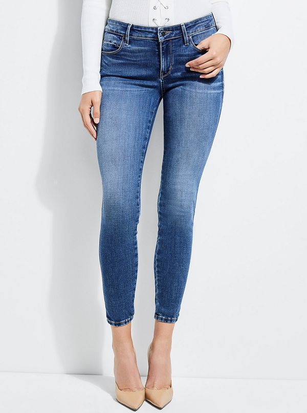 Soft Luxe Sexy Curve Skinny Jeans by Guess