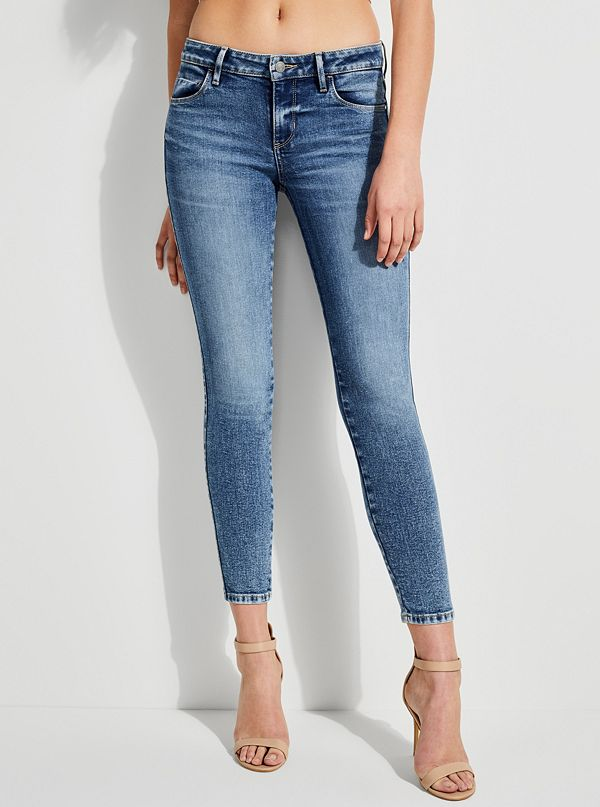9088b77d567 GUESS Eco Sexy Curve Skinny Jeans