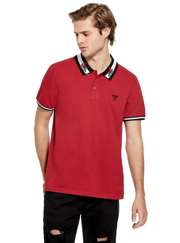 5868d246a Men's Polo Shirts | GUESS Factory