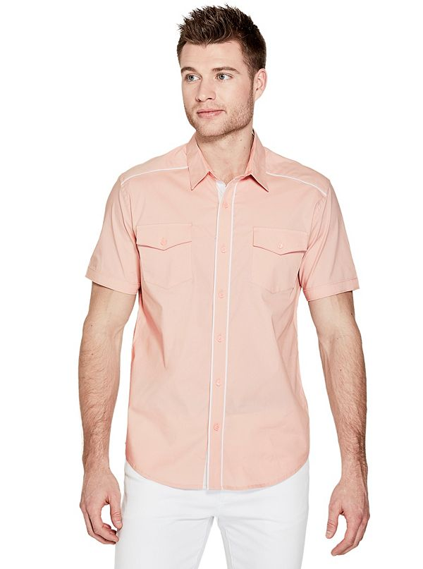 af61a5313667a Men s Short Sleeve Button-Down Shirts