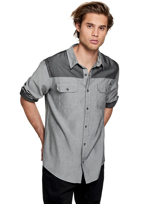 17ecadeb9c Men s Long Sleeve Button-Down Shirts