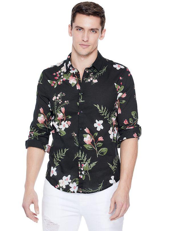 036730bb9119 Men's Button-Down Shirts   GUESS Factory