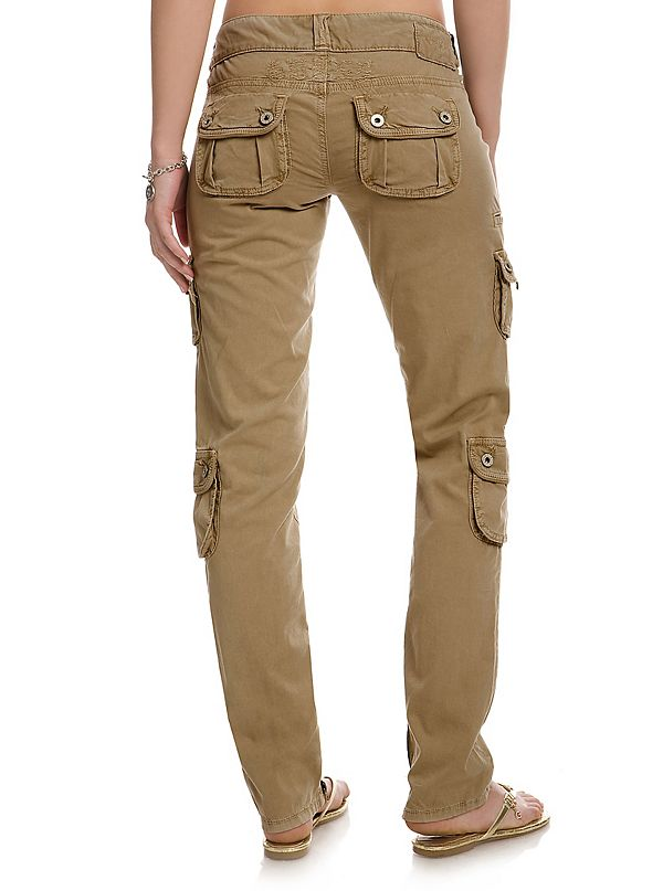 good out x complimentary shipping to buy Dawn Skinny Cargo Pants | GUESS.com