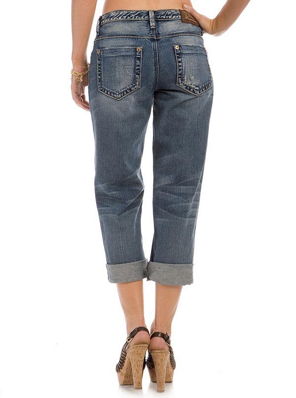 Boyfriend Jeans - Santiago Wash | GUESS.com