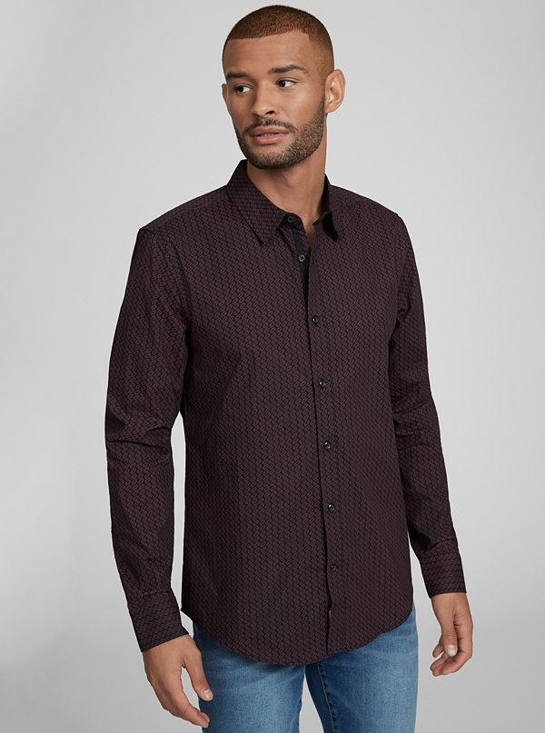 7fd3b78edf8d Men's Casual & Dressy Button Up Shirts | G by GUESS