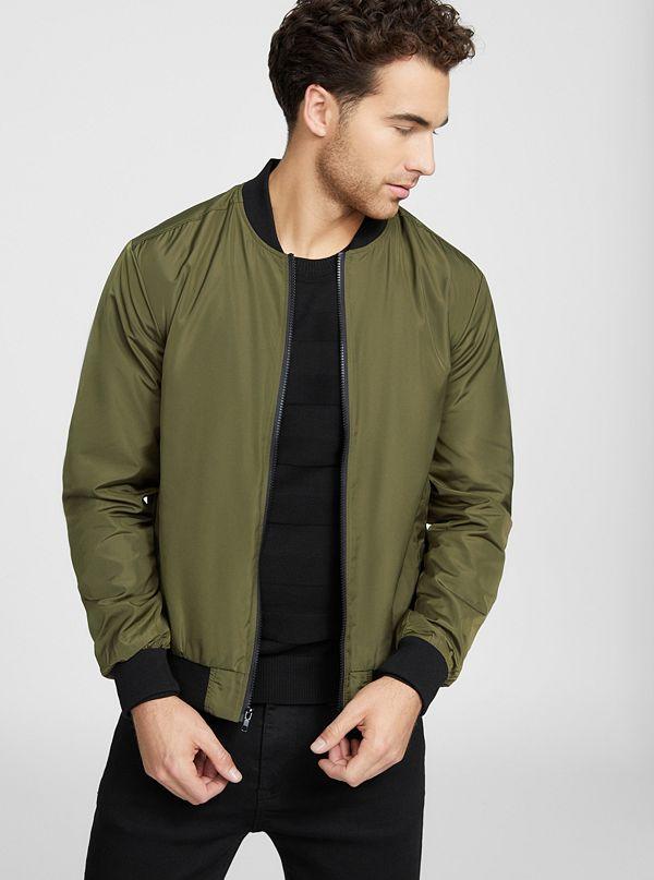 e1a61ea53e541 Jackets & Outerwear for Men | G by GUESS