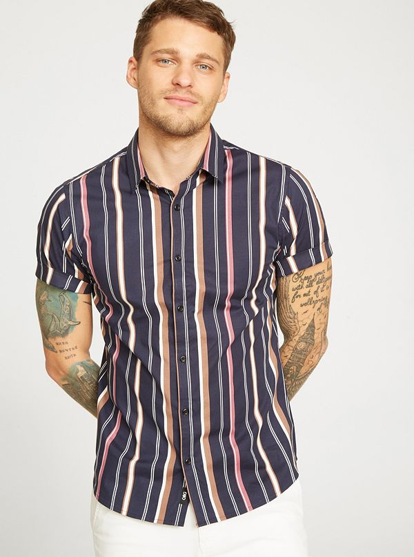 e6c0d2fb Men's Casual & Dressy Button Up Shirts | G by GUESS