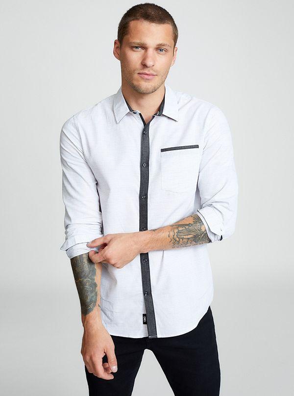 ebf276899f5a Men's Long Sleeve Shirts   G by GUESS