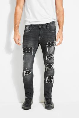 da2cee5a90 Studded Skinny Jeans