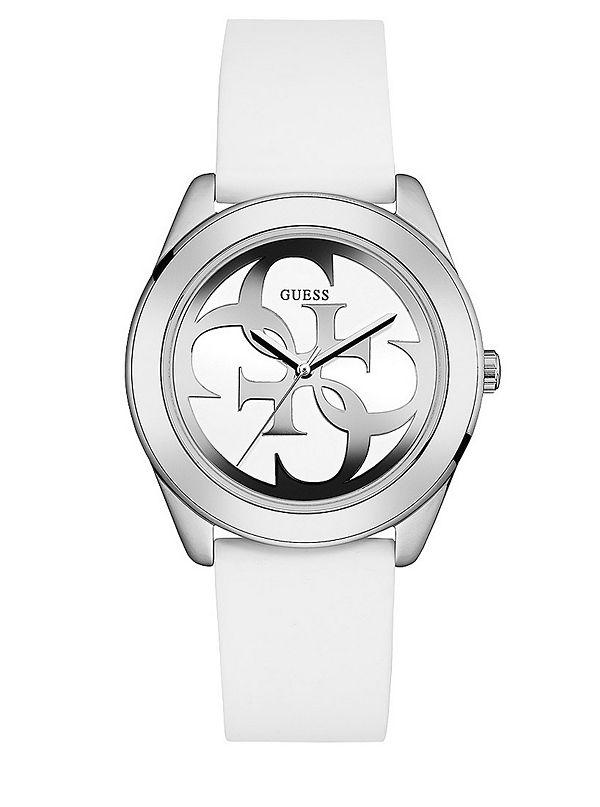 Reloj Guess G Twist Blanco Para Dama Brazalete De Silicón. W0911L1-BLANCO 5a0d9b54b696