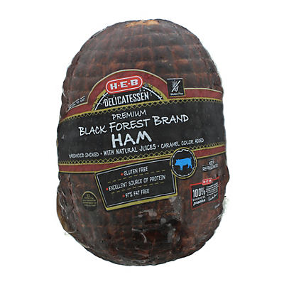 1 Lb Or More Of H E B Black Forest Honey Mesquite Smoked Brown Sugar Ham Save With In Store Coupon