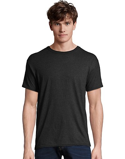Hanes-Men-T-Shirt-Short-Sleeve-FreshIQ-X-Temp-Tri-Blend-Performance-Crewneck-Tee thumbnail 5