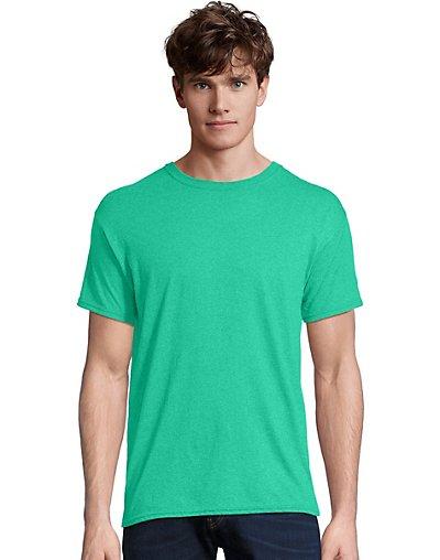 Hanes-Men-T-Shirt-Short-Sleeve-FreshIQ-X-Temp-Tri-Blend-Performance-Crewneck-Tee thumbnail 6