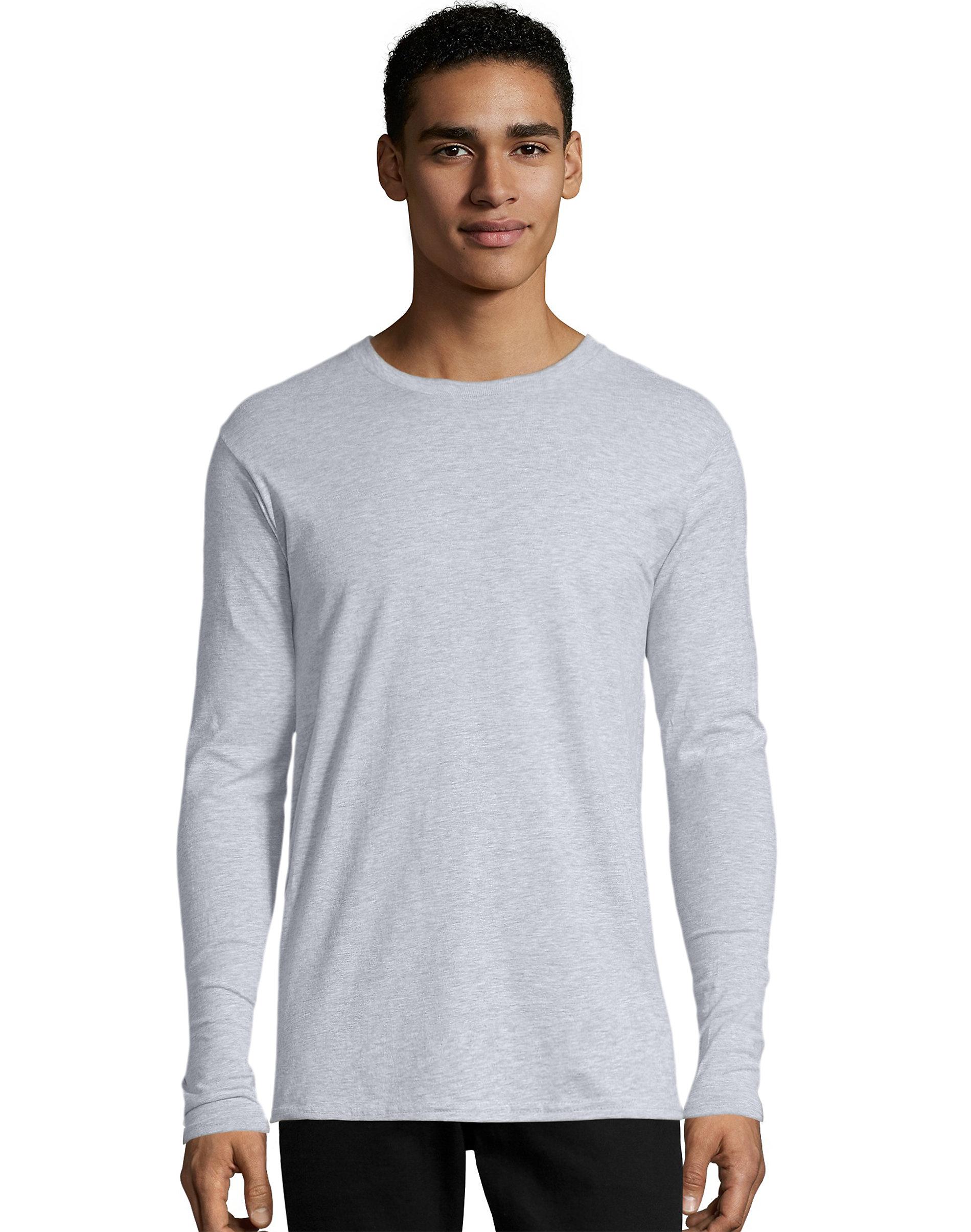 005e7740a45 Hanes Mens Long Sleeve Premium T Shirt (pack Of 2) – DACC