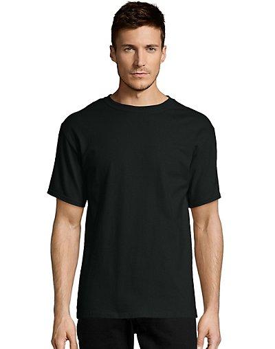 Hanes-Mens-T-Shirt-Comfort-Soft-100-Cotton-Short-Sleeve-TAGLESS-Tee-Plain-Blank thumbnail 5