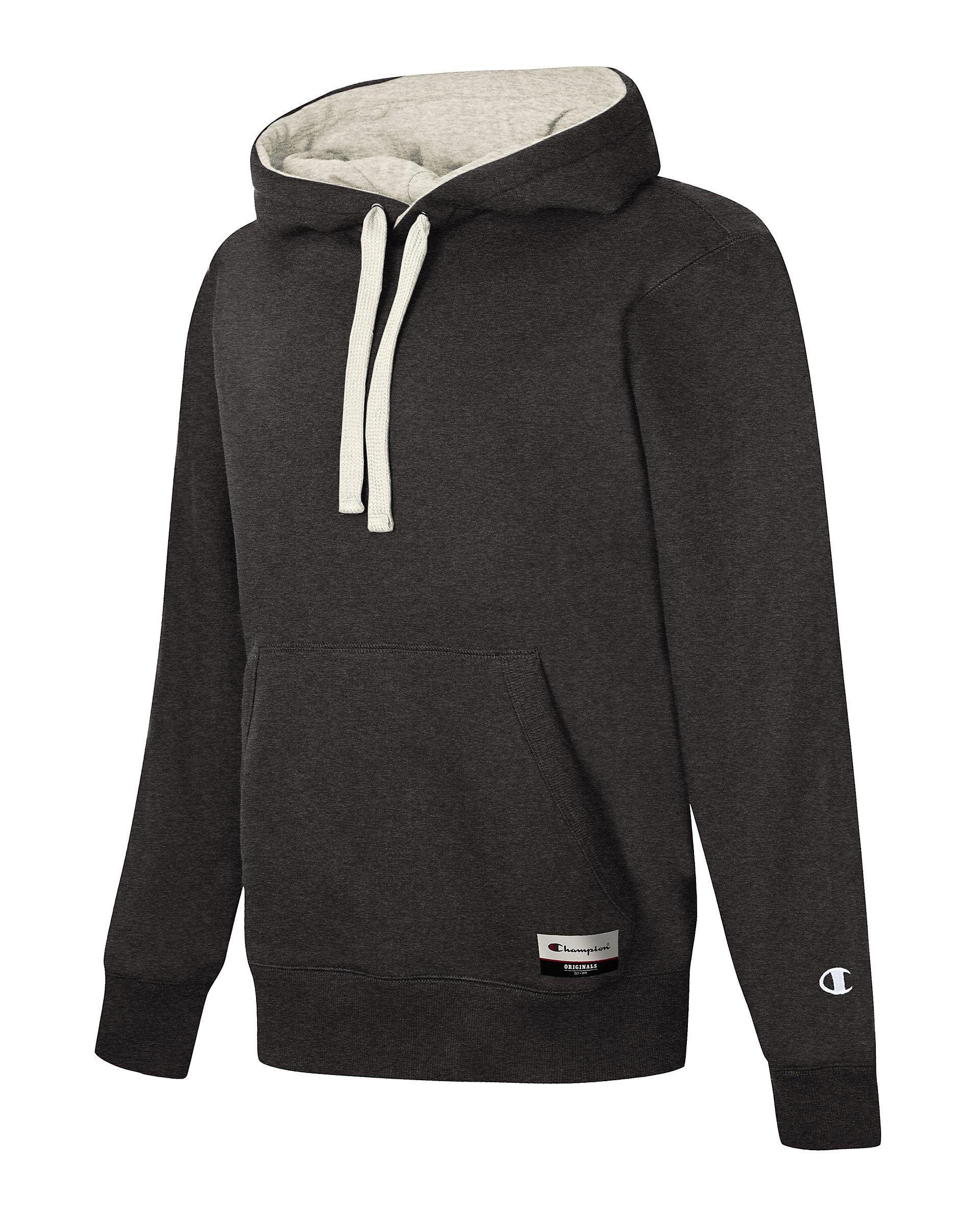 Champion Hoodie Sweatshirt Womens Fleece Powerblend Pullover Kango Pockets Scuba