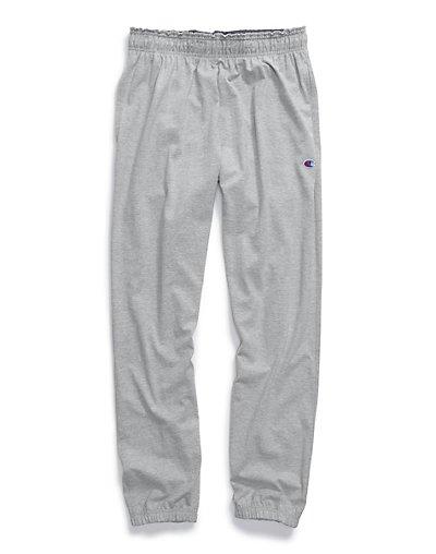 Champion Sweatpants Men Jersey Pants Big & Tall Elastic Bott