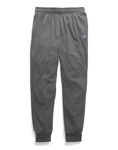 Champion-Sweatpants-Men-039-s-Jersey-Joggers-Side-Pockets-Comfortable-Athletic-Fit thumbnail 3