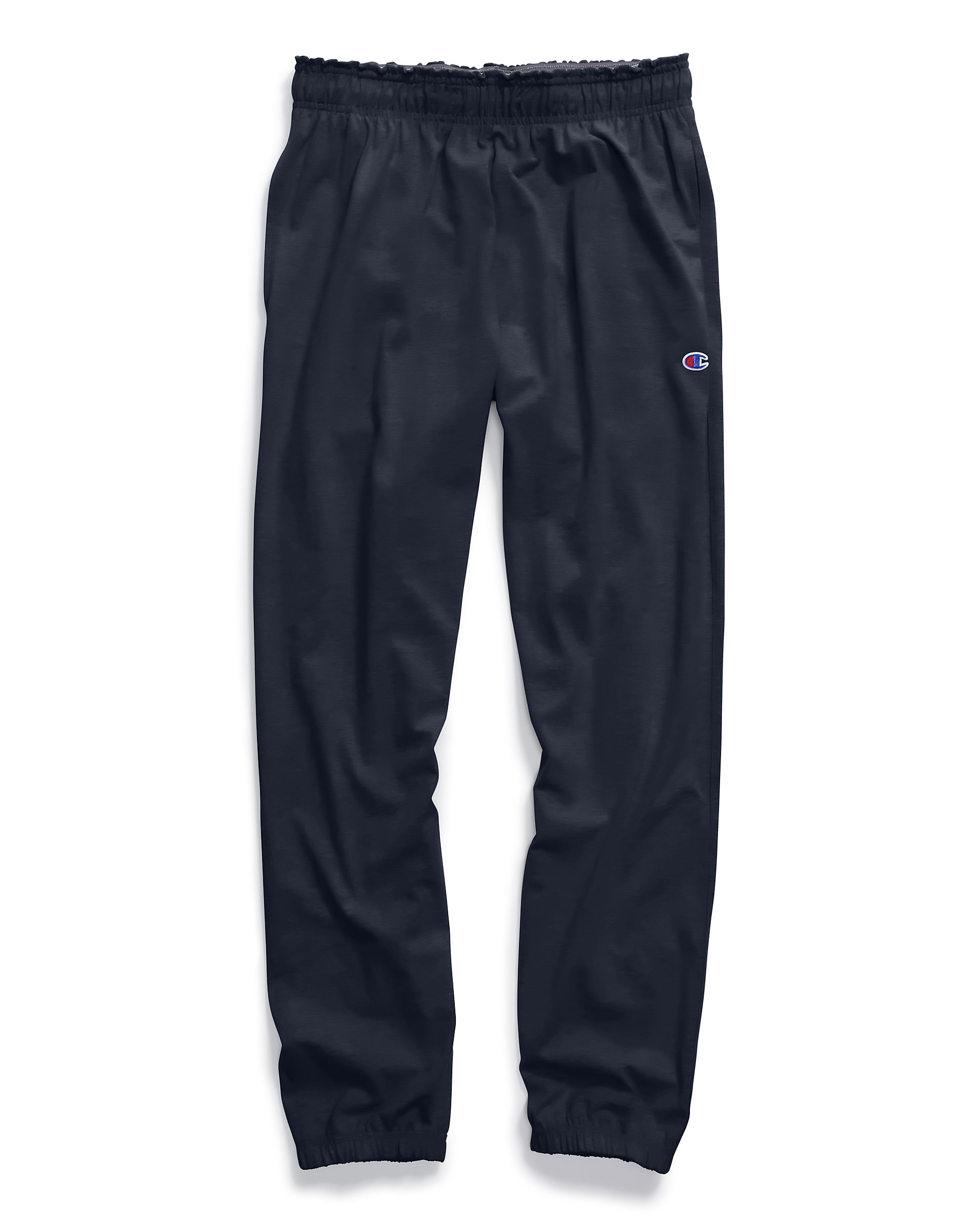 Champion-Authentic-Men-039-s-Athletic-Pants-Closed-Bottom-Jersey-Sweatpants-Workout thumbnail 5