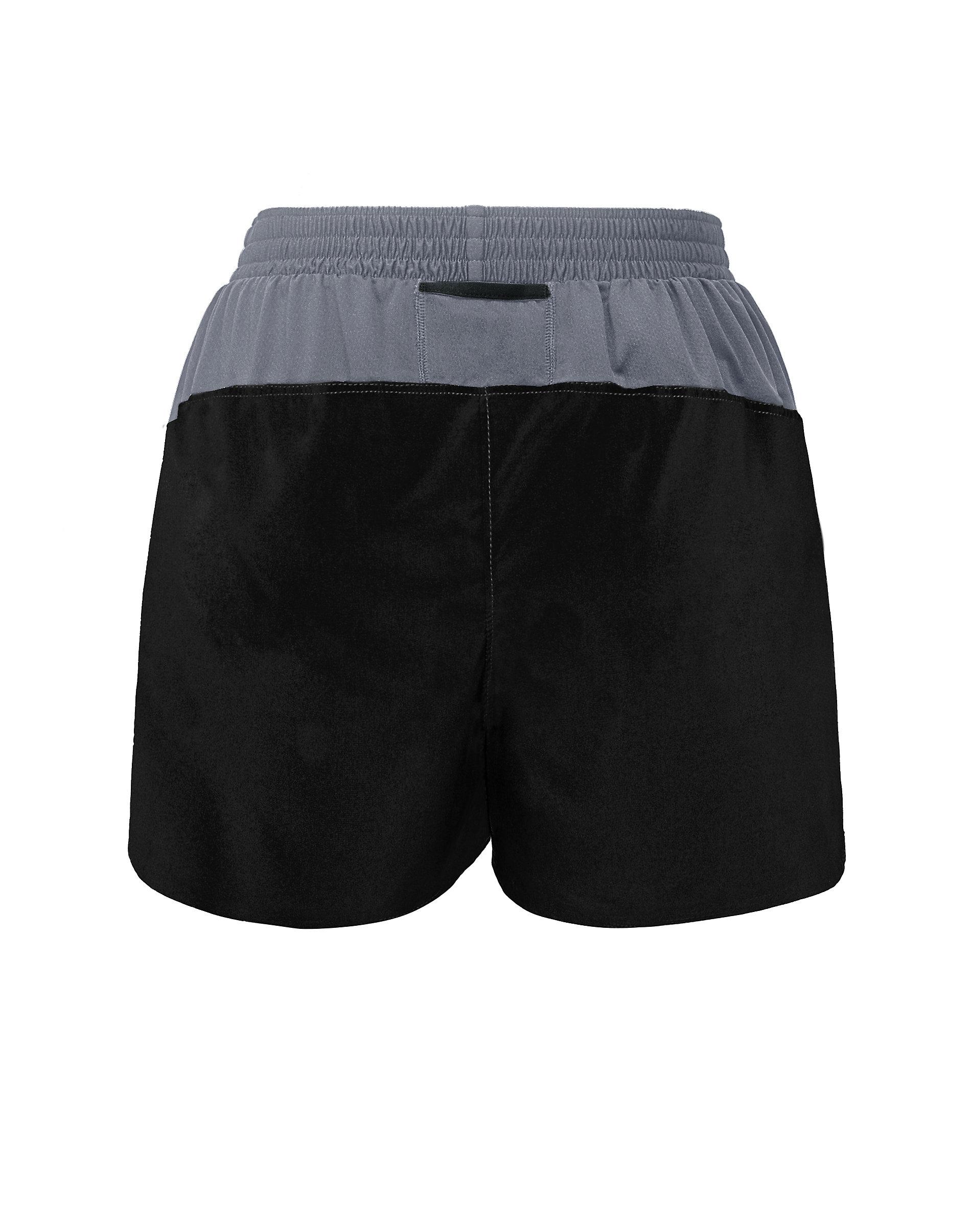 b5c6b3cf918c Champion Womens Plus Sport Shorts 5 Vapor Sport Black Medium Grey 4 ...