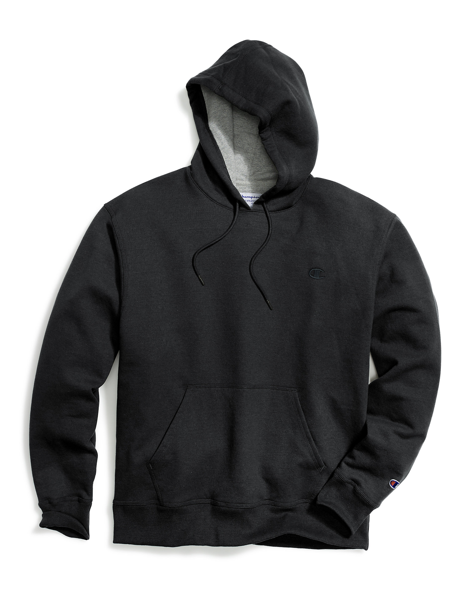 Champion-Mens-Hoodie-Sweatshirt-Fleece-Powerblend-Sweats-Pullover-Front-Pouch thumbnail 5