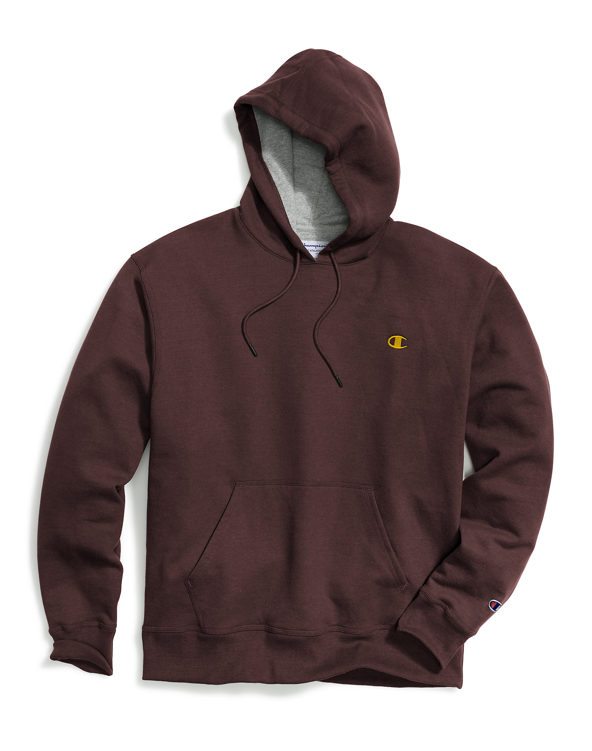 Champion-Mens-Hoodie-Sweatshirt-Fleece-Powerblend-Sweats-Pullover-Front-Pouch thumbnail 16