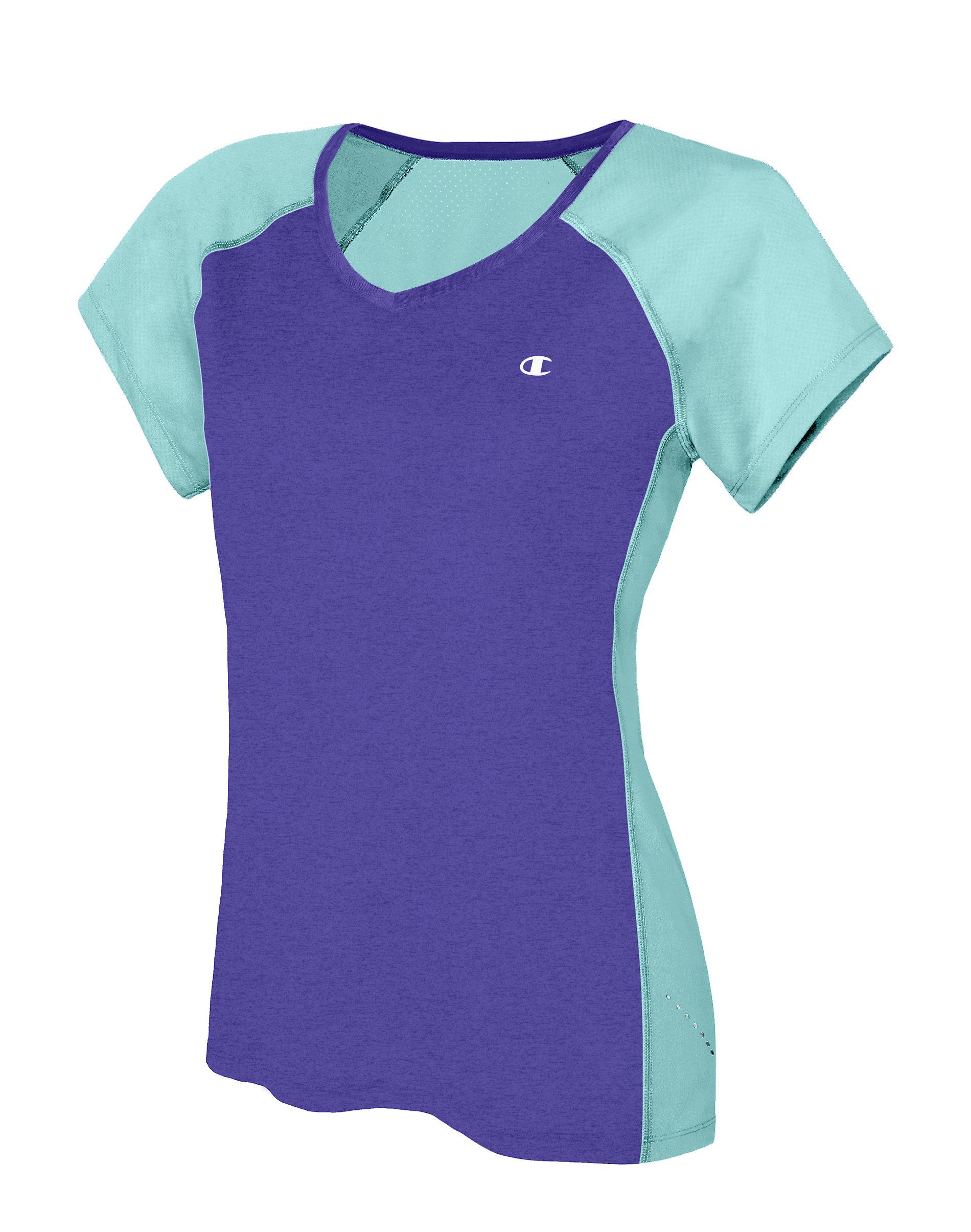 f1465dbe Champion Marathon Tee T-Shirt Women Vapor Short Sleeve XTemp Wicking ...