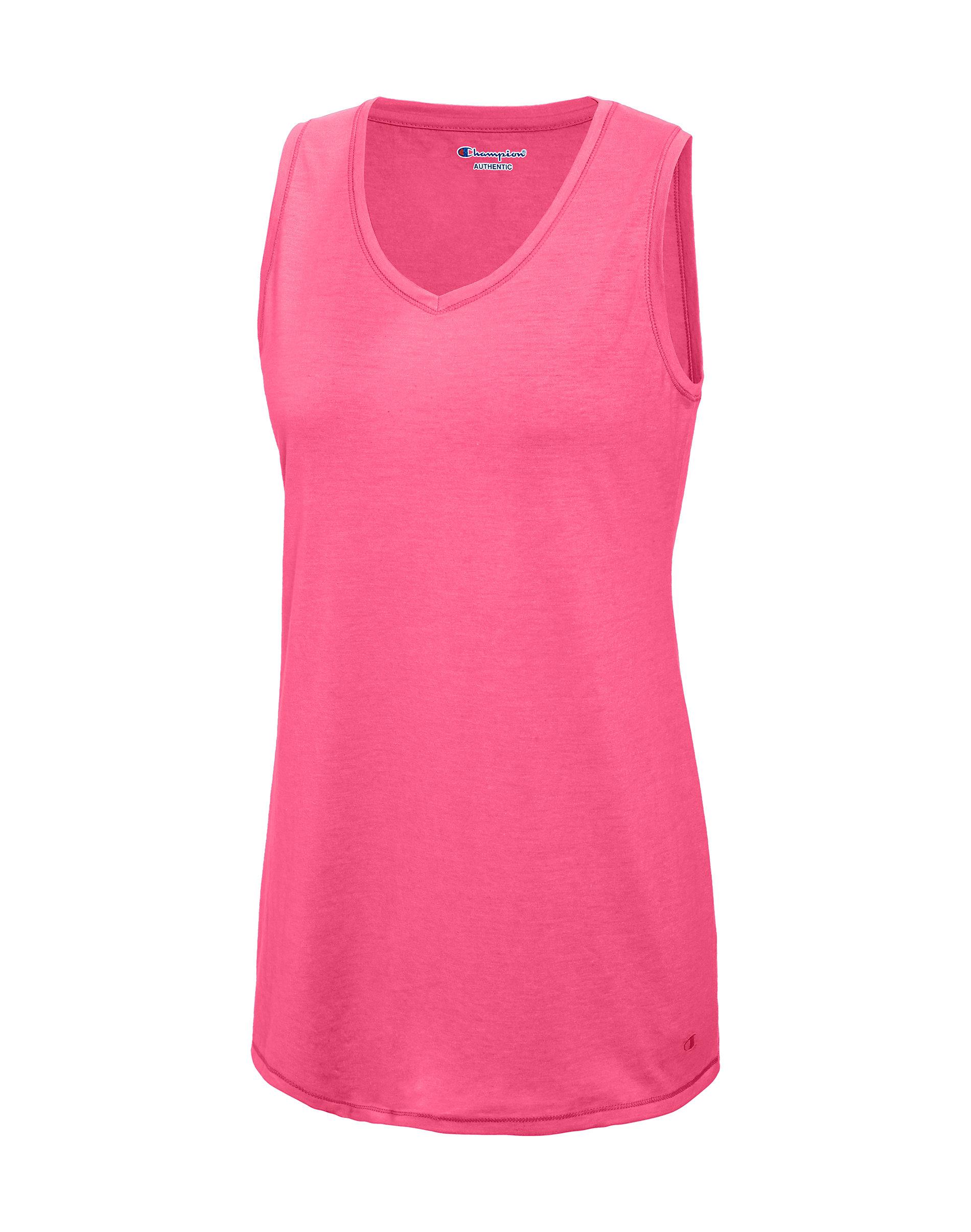 d70aa4f4649d Champion Tank Top Women Vapor Cotton V Neck T-Shirt Athletic X-Temp ...