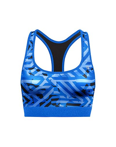Champion B1251P  The Absolute Workout Printed Sports Bra