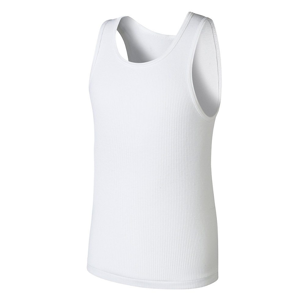 d7f9a4de49fce4 Home Hanes BU372C Boys Ultimate Comfortsoft Reg White Tank Undershirt 5 Pack.  base