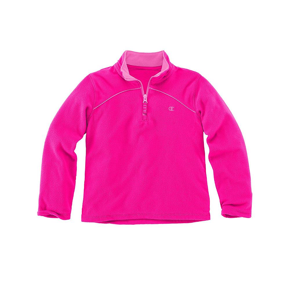 Champion C7800R  Girls' 1/4 Zip Micro Fleece Pullover